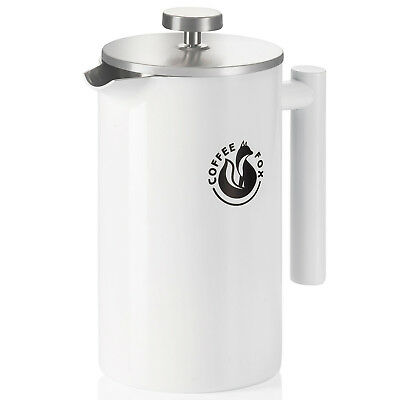 Luxus French Press Kaffeezubereiter Französische Kaffeepresse Kaffeebereiter 1L ()