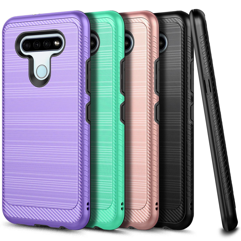 PU Leather Flip Phone Case for LG K51// LG Reflect//LG Q51 2020 Card Holder Cover 6.5 Black ykooe LG K51 Case
