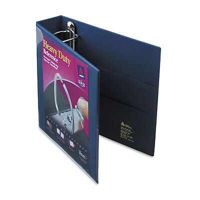 Avery Heavy-duty View Binder Wlocking 1-touch Ezd Rings 2 Cap Navy Blue 79802