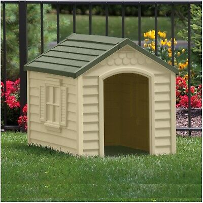 XL Dog Kennel Outdoor Comfort For X-Large Dogs Pet Home Yard Huge Cabin House for sale  USA