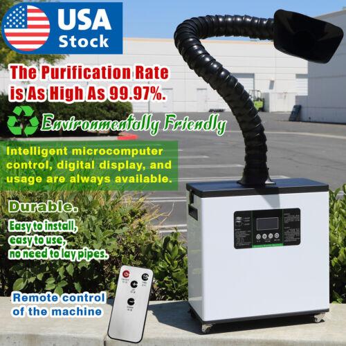Industrial Laser Smoke dust purifier Hepa carbon air purifier Soldering Smoke