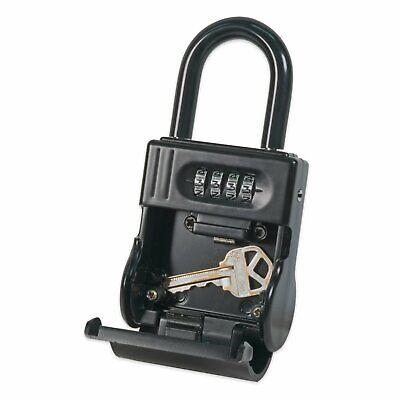 Shurlok Lock Box Combination Key Storage Lockbox Sl-700w For Real Estate Realtor