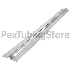(100) 4ft Aluminum Radiant Floor Heat Transfer Plates for 1/2