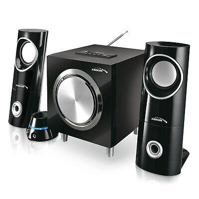 Altavoces PC Bluetooth 2.1 Radio FM Entrada de Tarjeta SD MMC AUX...