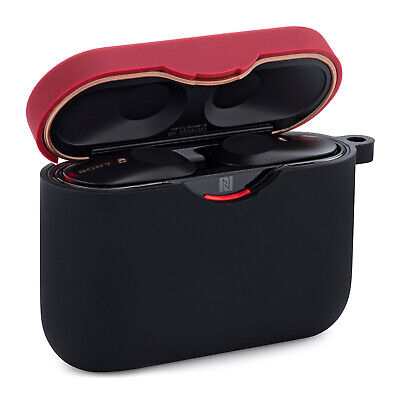 Knox Gear Soft Silicone Carrying Case Cover for Sony WF-1000XM3 Earbuds