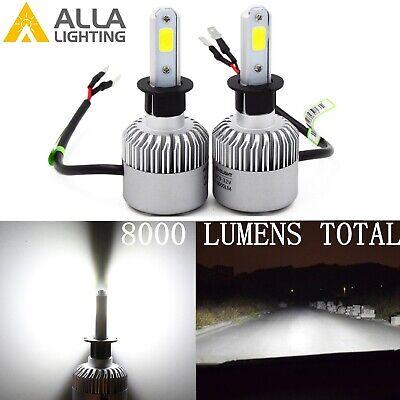 Alla Lighting LED Best Seller 6000K Pure White H3 Driving Fog Light Bulb (Best Aftermarket Fog Lights)