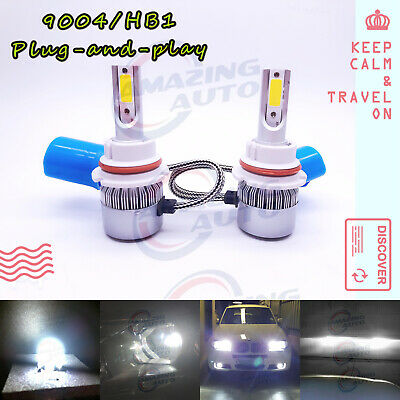 Halloween 5 Part 4 (Super Bright 2x 9004 HB1 55W LED Headlights Bulbs Kit/DRL 6000K White Best)