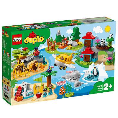 LEGO® DUPLO 10907 Tiere der Welt World Wild Animals 15 Tierfiguren N6/19