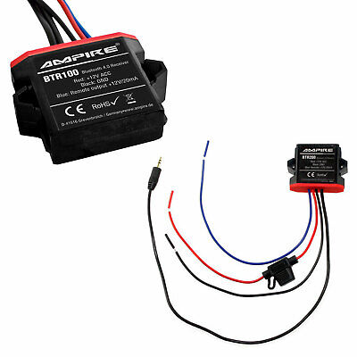 For Many Vehicles Original Ampire Bluetooth Interface Aux Jack MP3 Adapter
