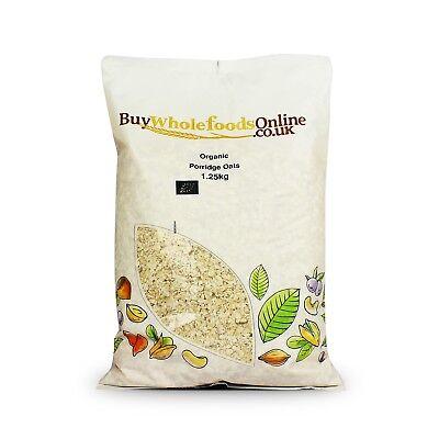 Organic Porridge Oats 1.25kg   Buy Whole Foods Online   Free UK Mainland P&P