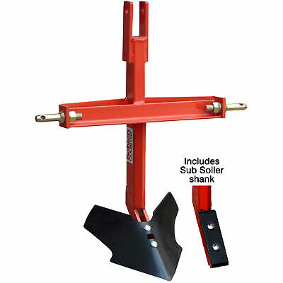 Middle Bustersub Soiler Combo Tractor Implement