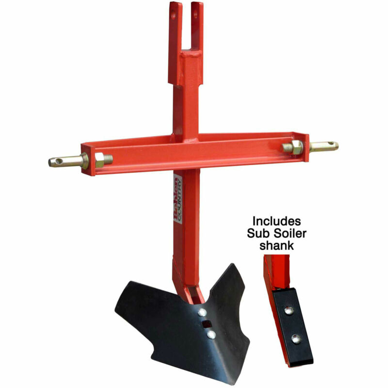 Middle Buster/Sub Soiler Combo Tractor Implement