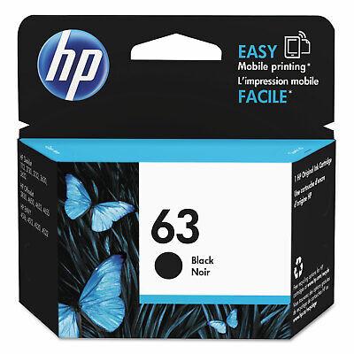 HP Inc. HP 63  Black Original Ink Cartridge