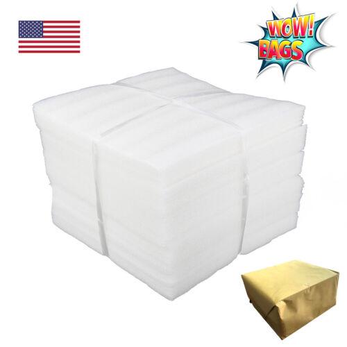 "50 Foam Packing Wrap Sheet 12x12 1/8"" Thick Cushion Shipping Moving Not Pouches"