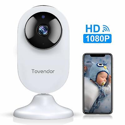 Smart Home Camera Mini WiFi IP Security Baby Monitor Night Vision Motion Alert