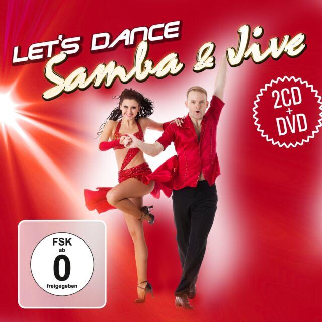 CD DVD Samba und Jive Let's Dance   2CDs und Tanzkurs DVD