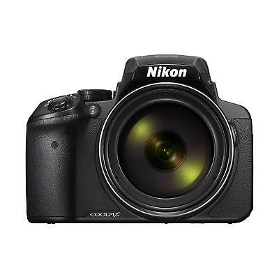 Nikon COOLPIX P900 16MP CMOS Digital Camera (Black) w/ 83x Optical Zoom & Wi-Fi