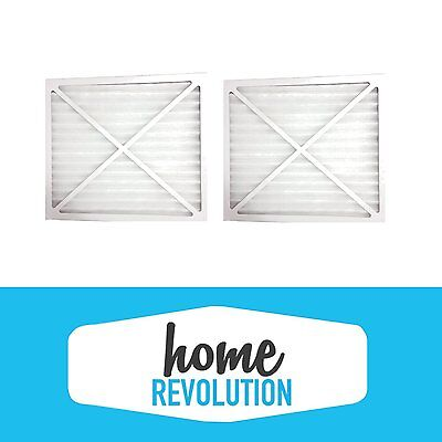 (2) Air Purifier Filters For Hunter 30920,30050, 30055,30065, 37065,30075,30080