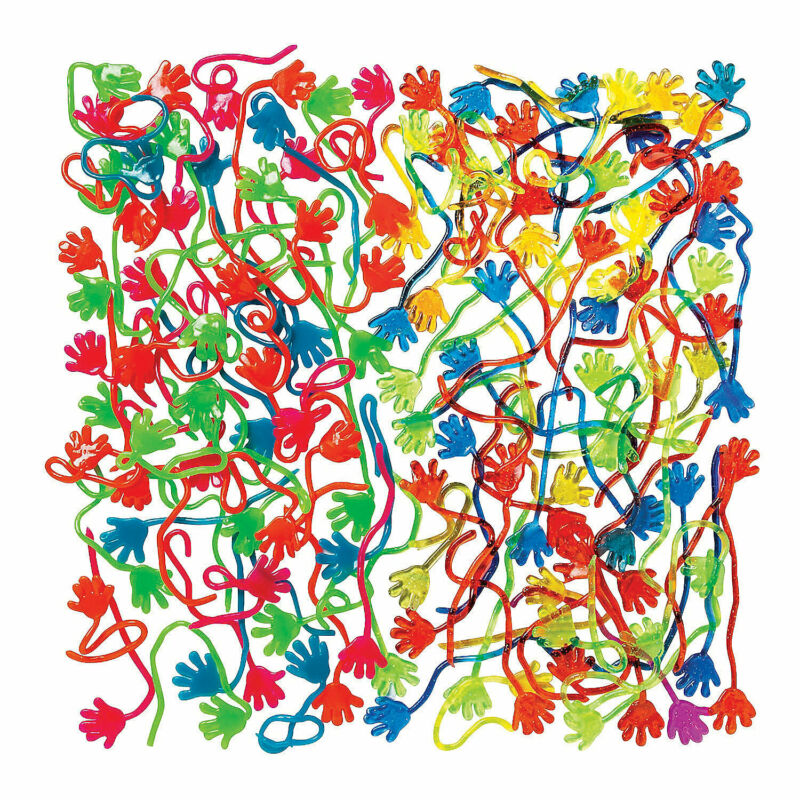 Bulk Sticky Hands Assortment - 288 Pc. - Toys - 288 Pieces