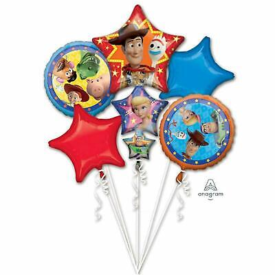 Disney Toy Story 4 Balloon Bouquet Birthday Party Decoration Supplies New! ()