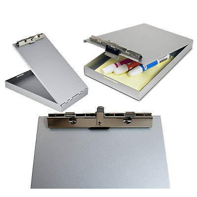 Storage Clipboard Letter Document Paper Box Organizer Container Heavy Duty Metal