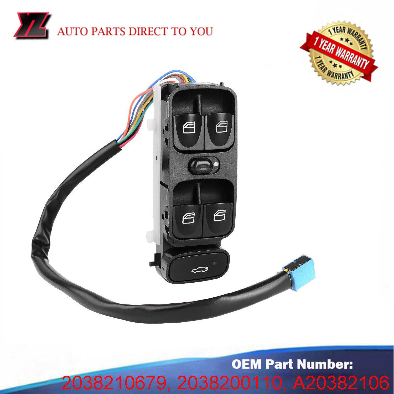 Window Switch Power Master For Mercedes Benz AMG C320 C230 C240 C280 C350 C55