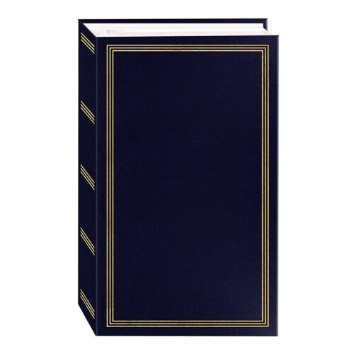 Pioneer Photo Album 4X6 3 Ring Binding 504 Pockets 500 Photos Navy Blue