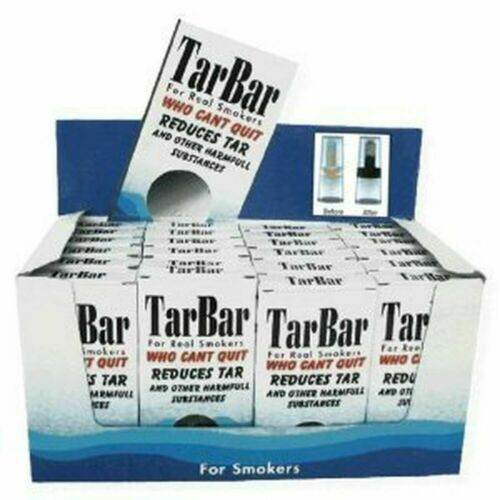 TarBar Cigarette Filters Disposable - 24 BOXES 768 Filters Total