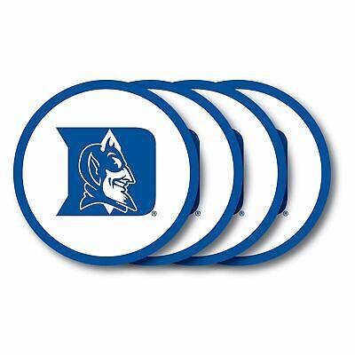 Duke Blue Devils Coaster 4-Pack Set Duck House NCAA