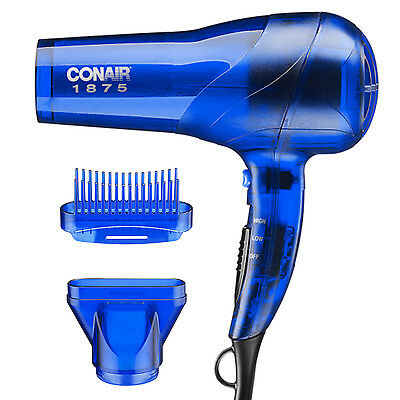 Hair Blow Dryer Conair Professional 1875 Watt Salon Pro Turbo Blower Dry Styler