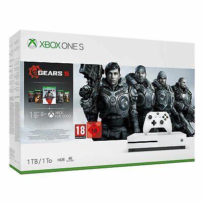 Xbox One S 1TB Gears 5 Bundle (Xbox One) New UK Stock