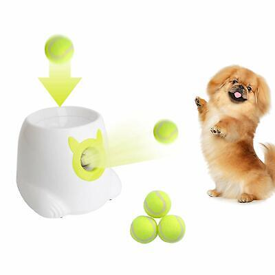 Pet Toys Interactive Ball Launcher Tennis Ball Throwing Machine for Dog - Dog Tennis Ball Machine