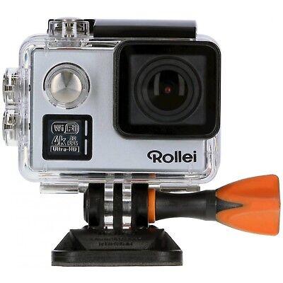 Rollei Actioncam 530 Wasserdicht 4k Ultra HD Silber NEU