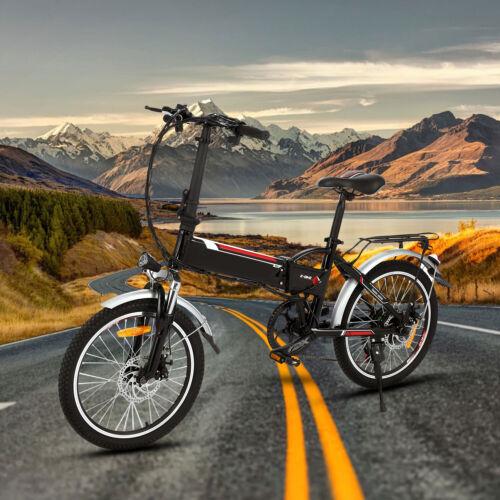 20'' Faltbar Fahrrad Elektrofahrrad E-Bike Electric Bike Klapprad 250W 30km/h DE
