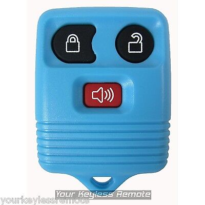 Light Blue Replacement 3 Btn Keyless Entry Remote Fob For Ford CWTWB1U212