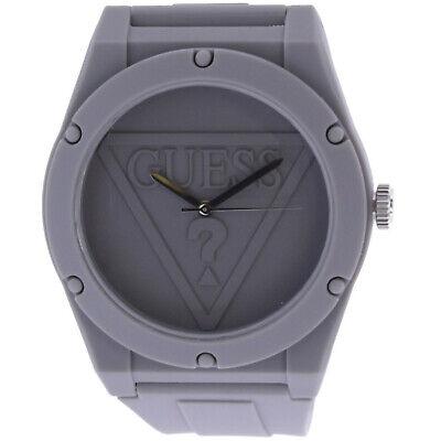 Guess Women's Retro Pop U0979L7 Grey Silicone Japanese Quartz Fashion Watch