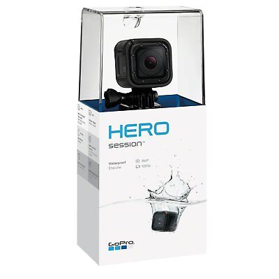 Gopro Hero4 Session Waterproof Action Camera With Accessories