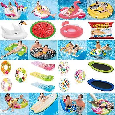 Intex Luftmatratze Matratze (Luftmatratze Wassermatratze Schwimmring Schwimmreifen Wasserball Bälle Intex)
