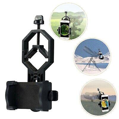 Soporte para teléfono con telescopio, soporte universal para adaptador de teléfono inteligente para detectar
