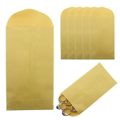 Brown Kraft Envelope 6 X 3.5 6 Coin Small Parts 24lb Gummed Flap Pack Of 500
