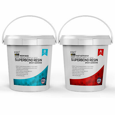 Epoxy Superbond Resin 2 Gallon Kit Fast Cure Includes Part A B 135365
