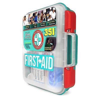 - NEW 351 pc Emergency First Aid Kit Workplace OSHA ANSI FREE FAST SHIPPING