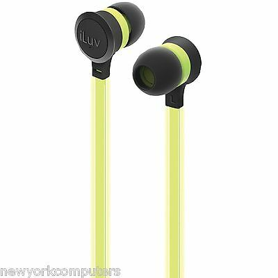 ILUV NEON GLOW EARBUDS STEREO HEADPHONE GLOW-IN-DARK GENUINE