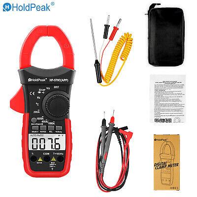 Professional Ac Dc Clamp Meter Current Voltage Multimeter App Tester Auto Range