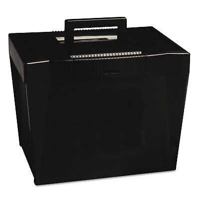 Pendaflex Portable File Storage Box Letter Plastic 13 12 X 10 14 X 10 78