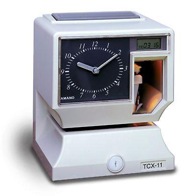 Amano Electronic Time Clockrecorder. Tcx-11