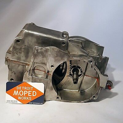 Rebuilt Puch E50 moped motor bottom end without transmission - ready to go!