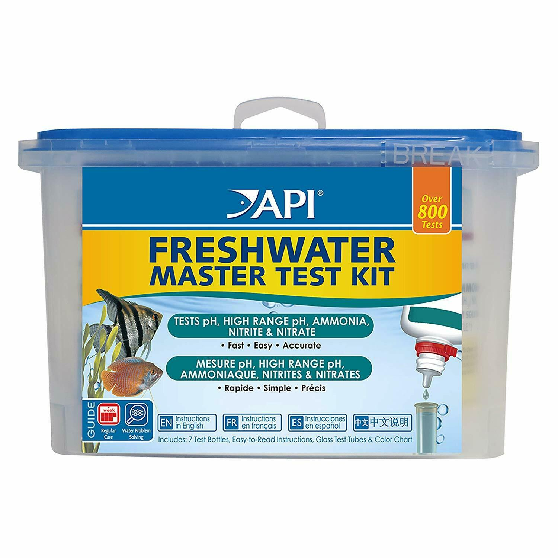 API Freshwater Master Test Kit Liquid pH Ammonia Nitrite Nit