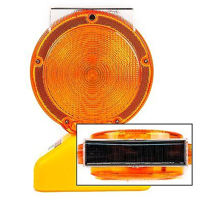 Solar Rechargeable Traffic Construction Barricade Led Warning Light-blight-st
