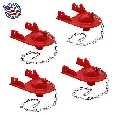 4 Pack FlushLine Kohler Shark Top Toilet Flapper GP84138, 84313, 85655, 89825 2″ Home & Garden